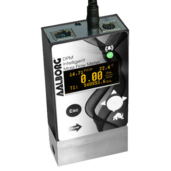 DPM mass flow meter
